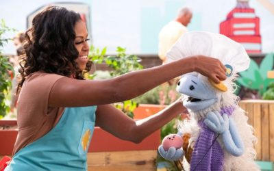 Michelle Obama's Netflix cooking show can help teach our kids a valuable lesson that has nothing to do with food.