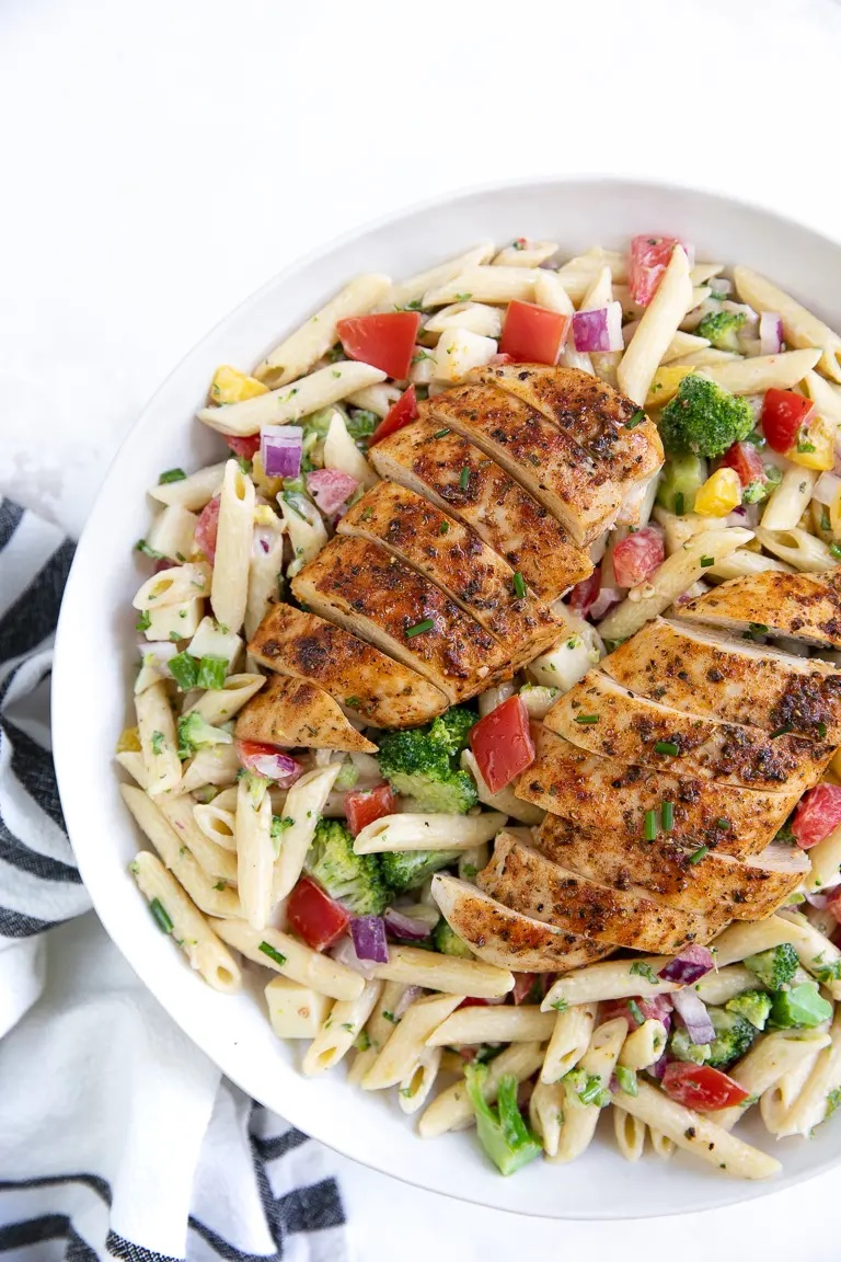 Weekly meal plan 10: Chicken ranch pasta at The Forked Spoon