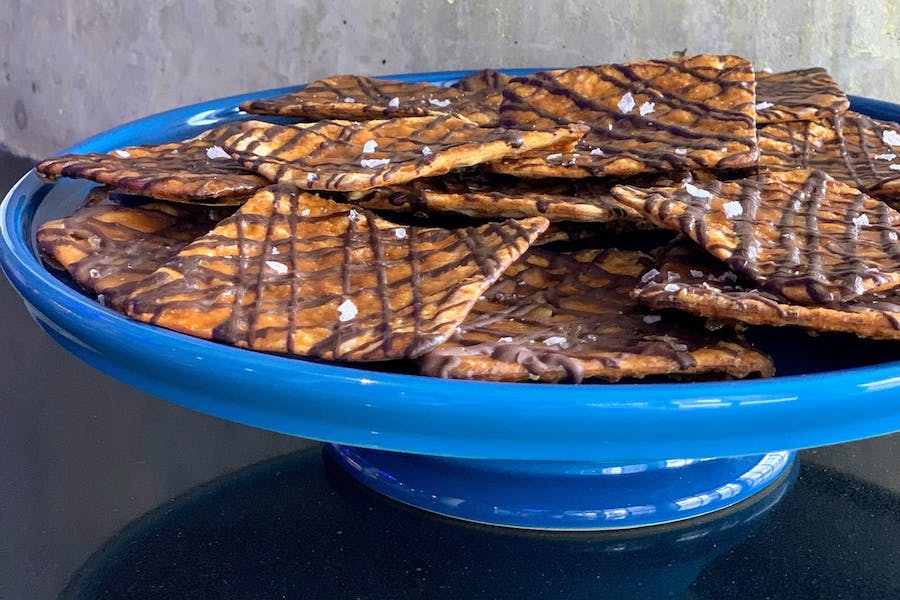 6 delicious chocolate-covered matzo (or matzah or matzoh) gifts to send for Passover.