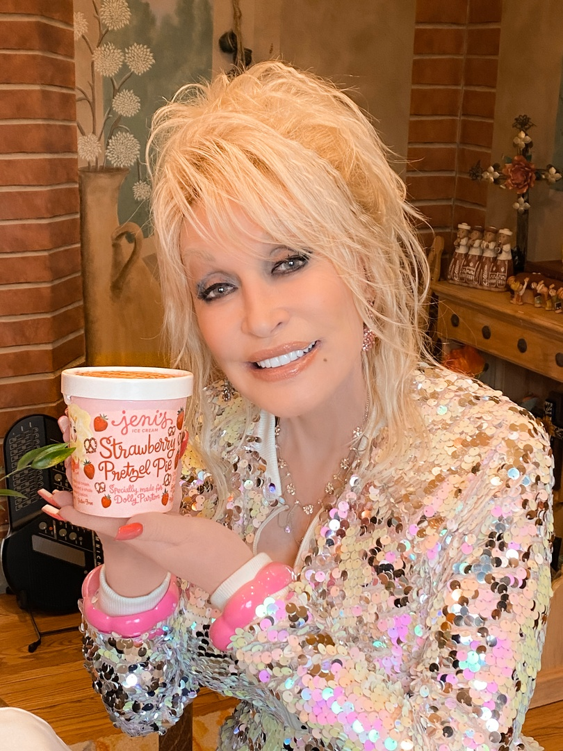 Dolly Parton has her very own Jeni's ice Cream flavor! and it's going to go FAST. Here are the details