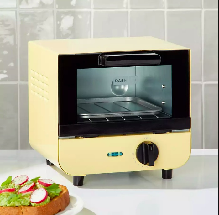 Perfect for the office, this mini toaster oven from Dash is a great Mother's Day gift under $25