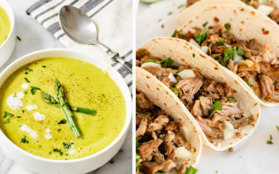 Light spring dinner recipes to ease off those heavy winter meals