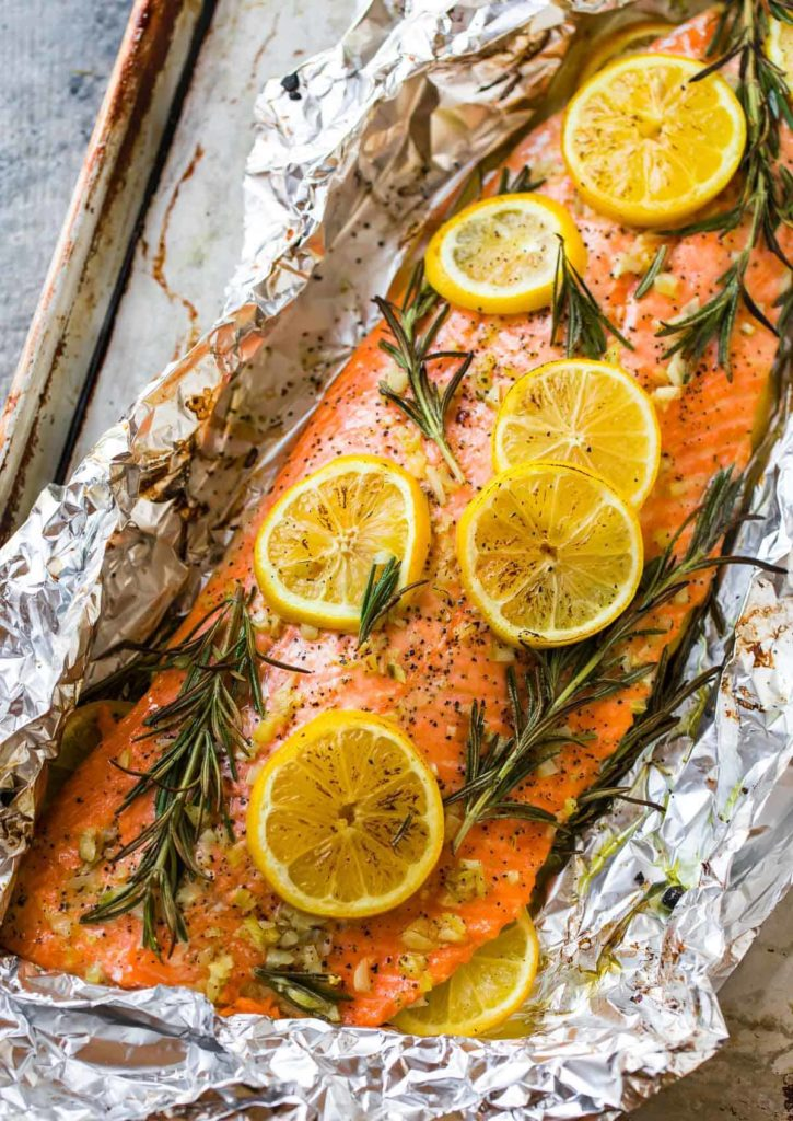 Baked Salmon in Foil from Well-Plated: One of our favorite new meal plan additions