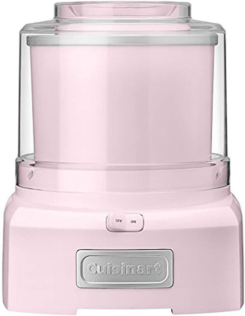 Pink-Cuisinart-Ice-Cream-Maker