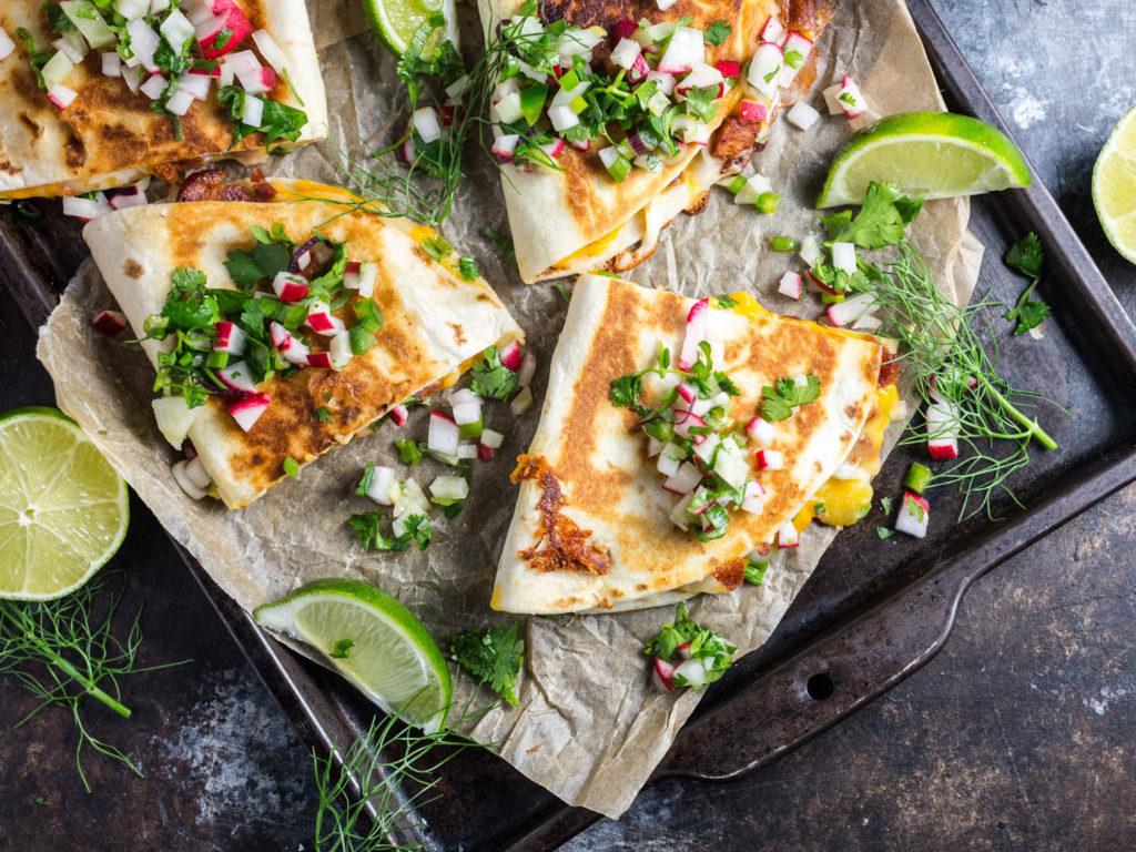 Meal plan ideas: Chorizo quesadillas at Serious Eats