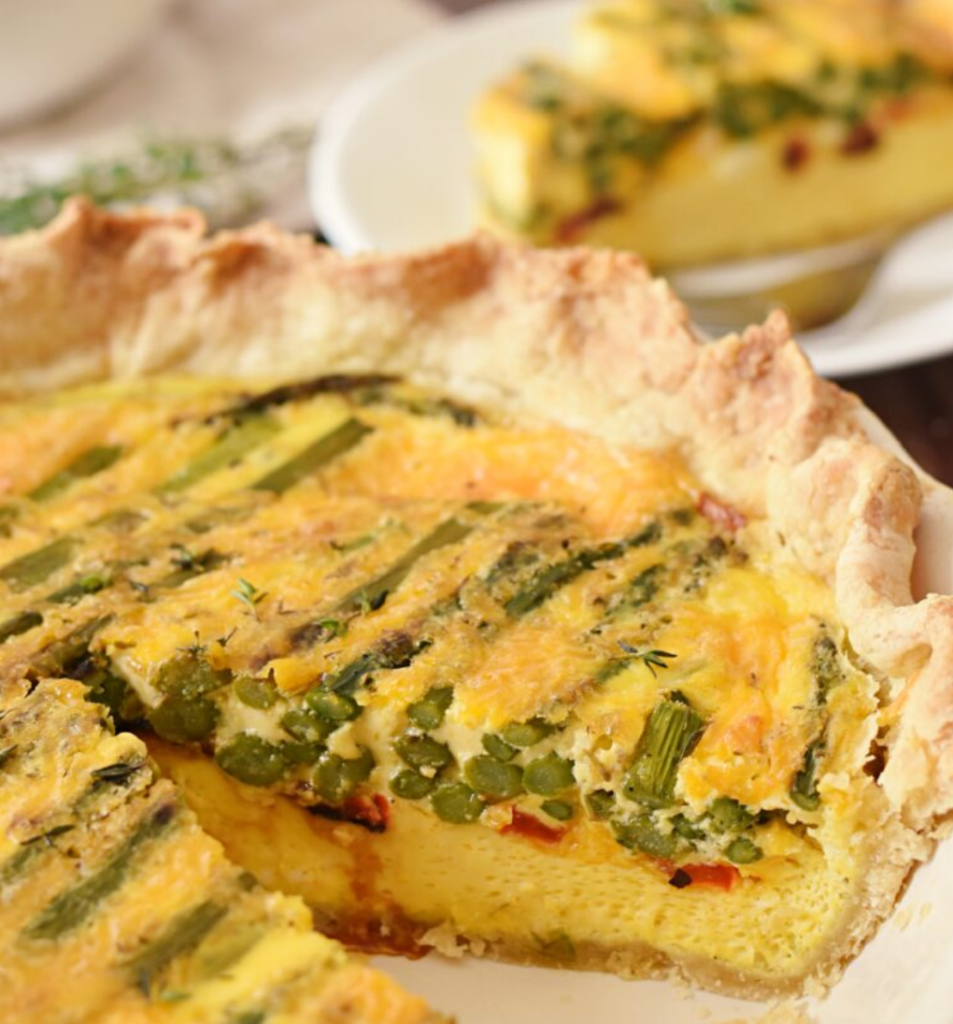 Asparagus Quiche from Elke Living