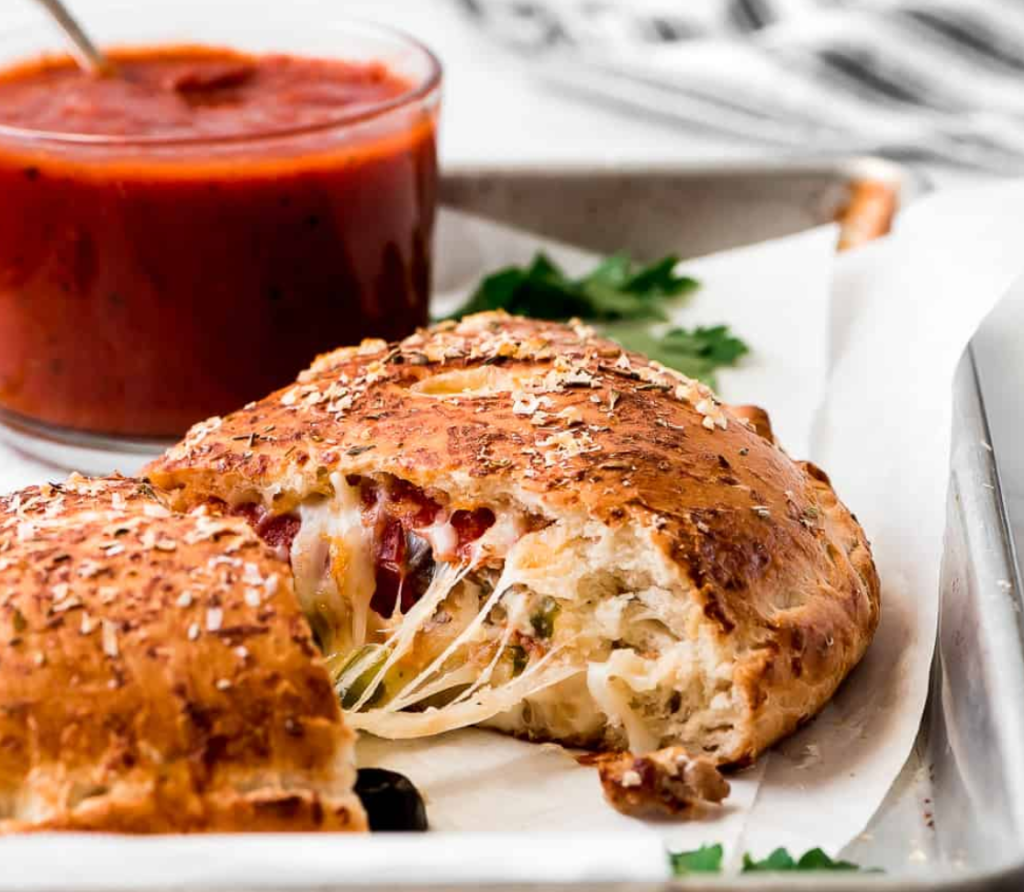 Calzone from The Recipe Critic