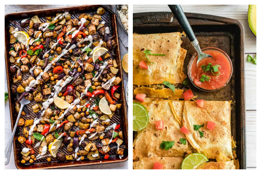 5 easy meals that put that sheet pan to work | Meal Plan Ideas #16