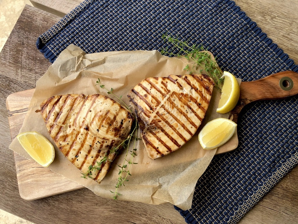 Meal plan ideas | Grilled Swordfish at Jess Pryles