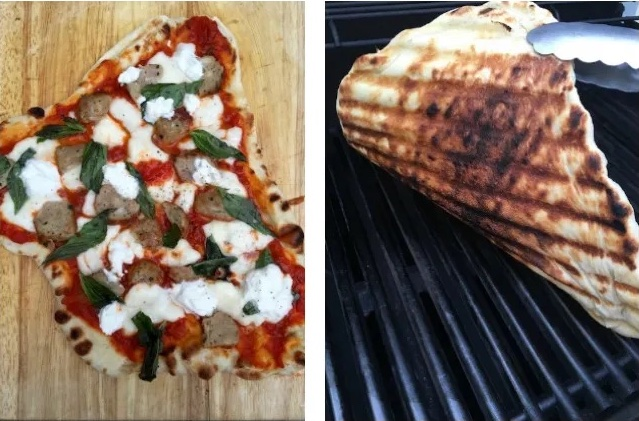 How to grill pizza: it's way more delicious, and easy, than you think. | Step by step instructions on Cool Mom Eats
