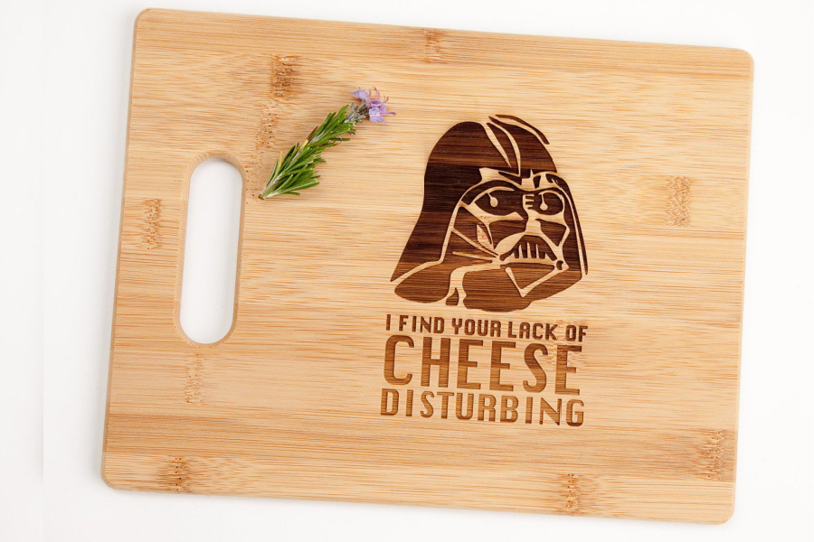 This Star Wars Day, may the cheese course be with you.