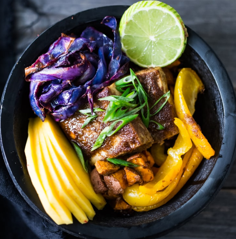 Caribbean Style Island Bowls from Feasting at Home