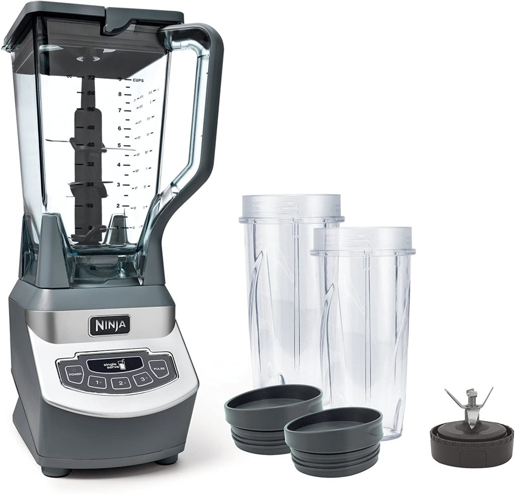 A must have for making cold soups: My NinjaBL660 Blender is the best!