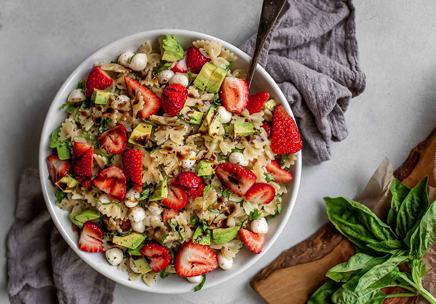 Strawberry-Caprese-Pasta-Salad-from-Platings-and-Pairings-found-on-OSC
