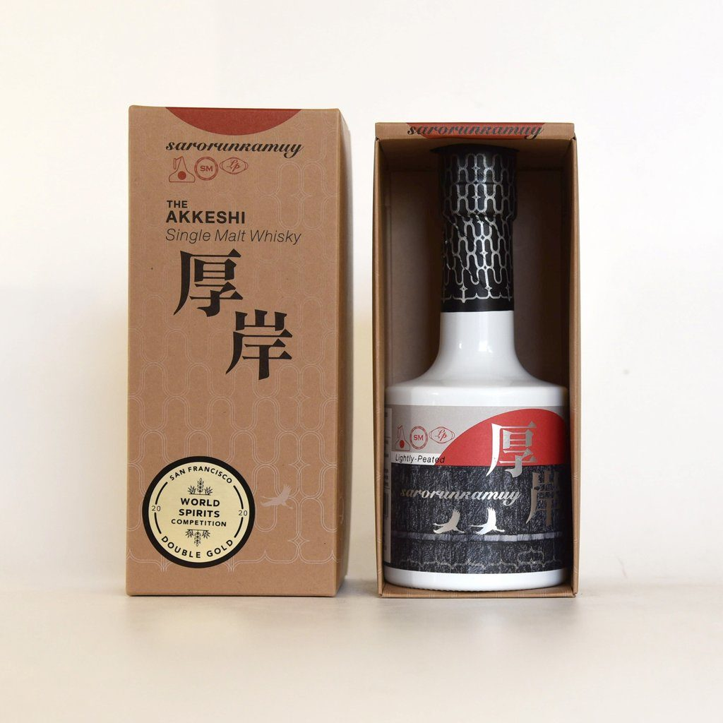 Japanese single-malt whiskey fro the Akkeshi Distillery | Food gifts supporting AAPI-owned businesses