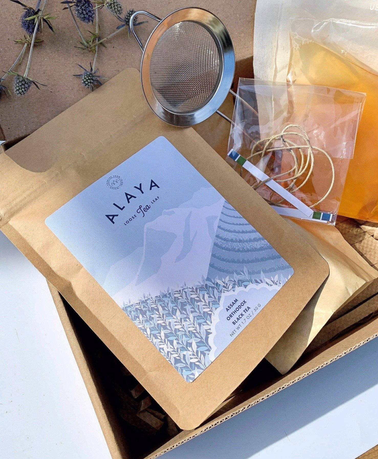 DIY Kombucha Kit from Alaya | AAPI-owned food gifts