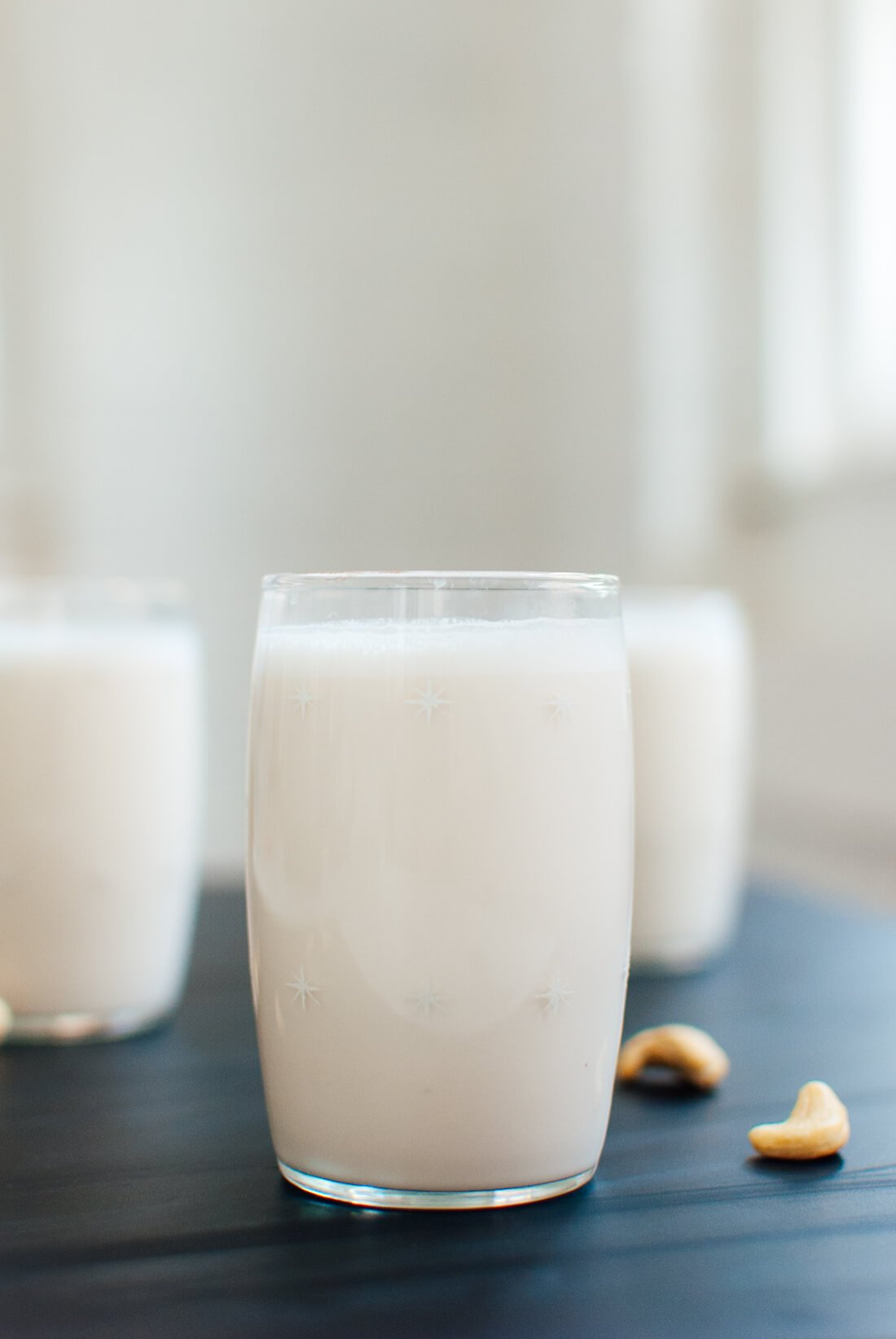 Tips for perfecting DIY plant-based milk recipes: Try the Cashew Milk recipe at Cookie and Kate