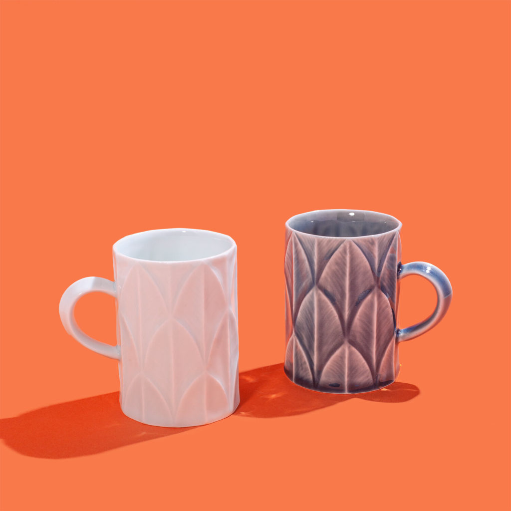 Daojin Geometric Mug from Wing on Wo & Co | food and kitchen gifts supporting AAPI-owned businesses
