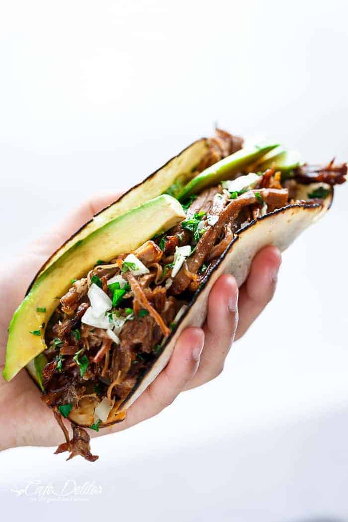 Weekly meal plan ideas: Barbacoa Tacos at Cafe Delites