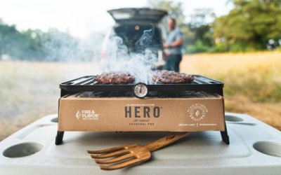 The eco-friendly portable charcoal grilling system that saved my camping trip