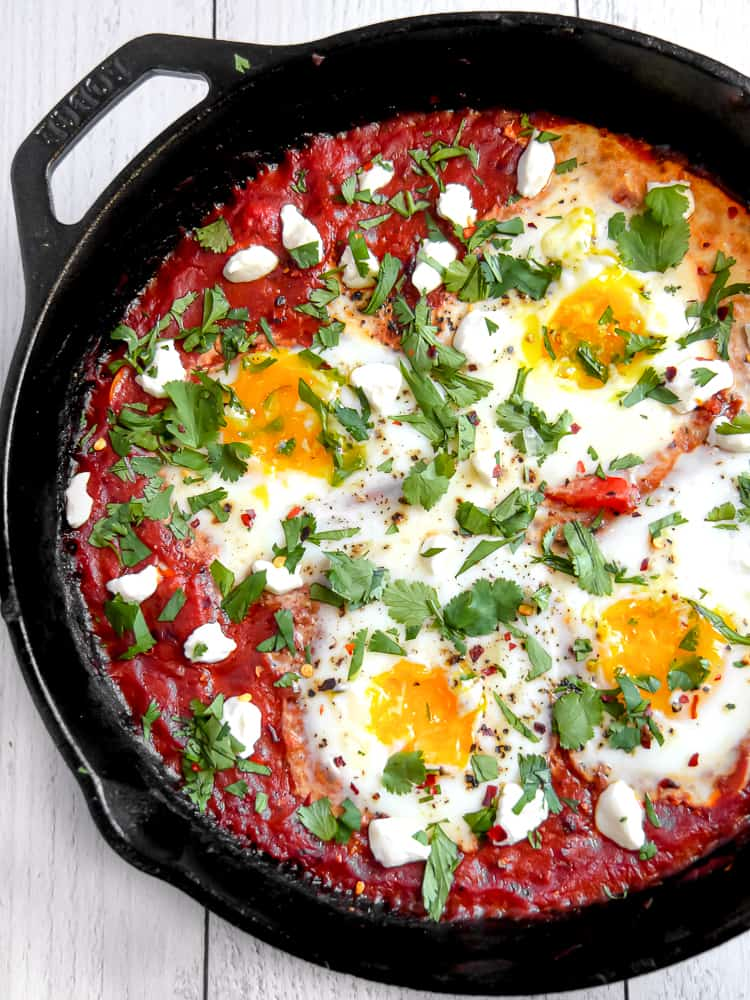 Delicious Meals in a Cast Iron Skillet: Shakshuka from GirlWithTheIronCast