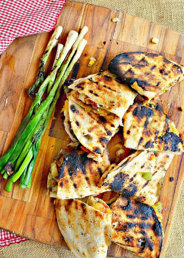 Meal plan ideas: Grilled quesadillas at This Is How I Cook