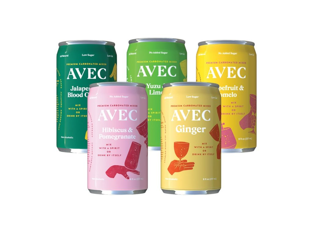 Non-alcoholic canned cocktails: Avec