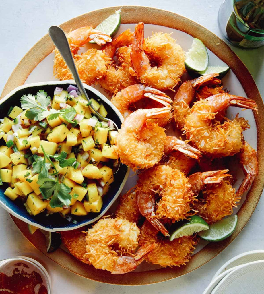 Weekly Meal Plan Ideas: Coconut Shrimp from Spook Fork Bacon