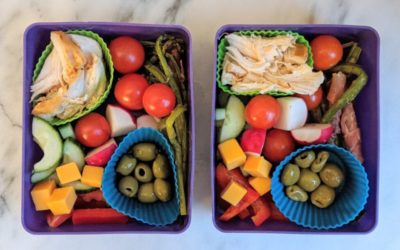 Charcuterie-inspired school lunch ideas for kids and teens