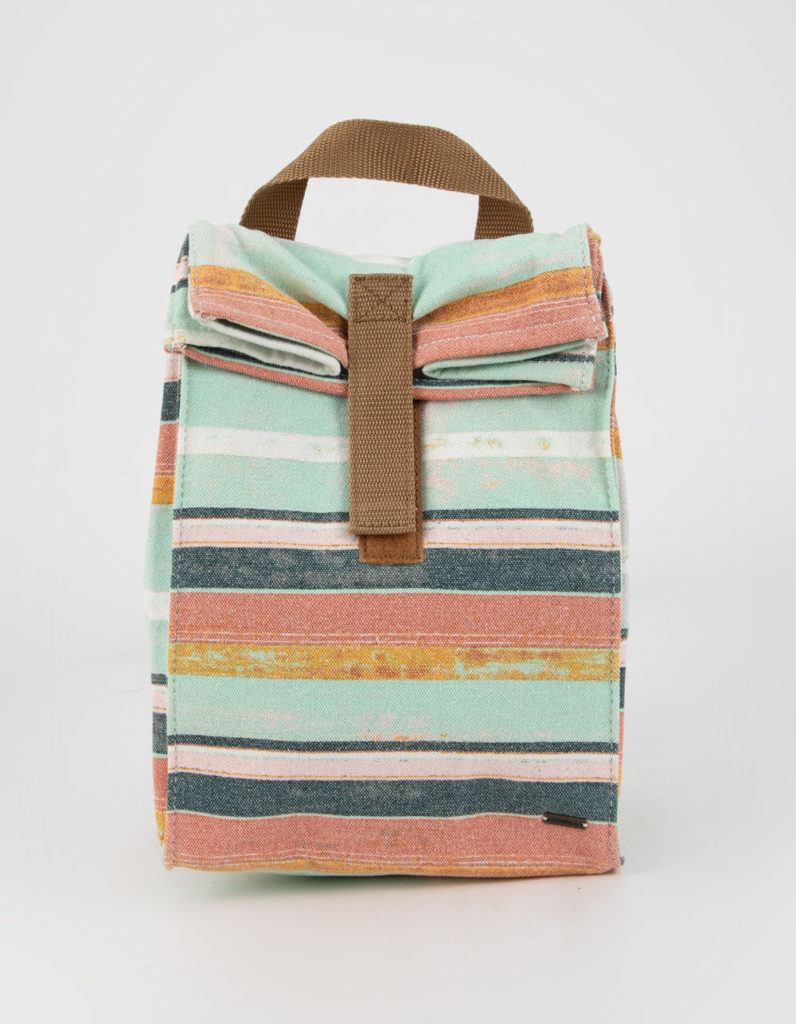 Cool lunch bags for Teens: O'NEILL Picnic Jack Stripe Lunch Bag at Tillys