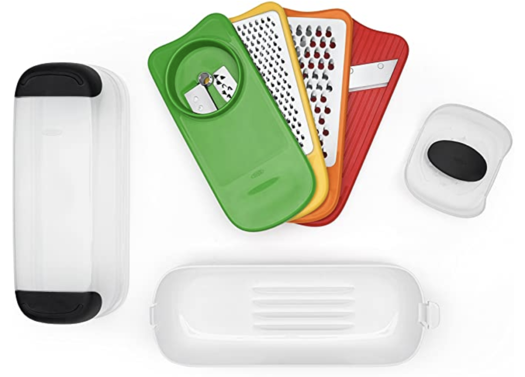OXO Spiralize Grate and Slice Set on Amazon