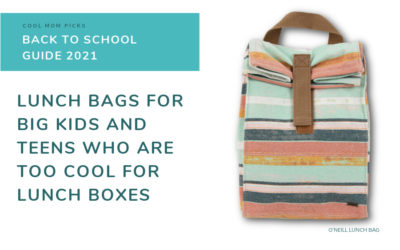 Lunch bags for teens and big kids who are too cool for lunch boxes now   Back to School Guide