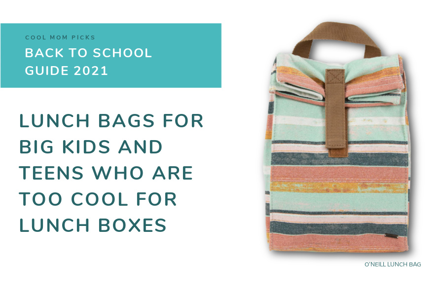 Lunch bags for teens and big kids who are too cool for lunch boxes now | Back to School Guide