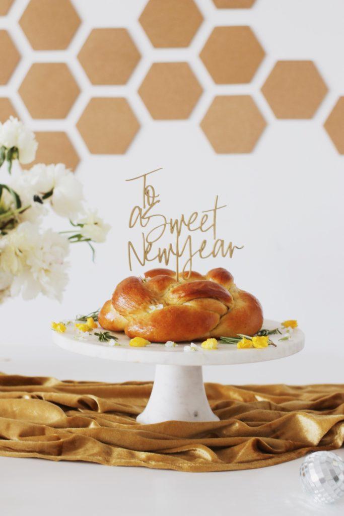 Rosh Hashanah Challah Recipes: Easy Round Challah with Cinnamon, Brown Sugar, and Raisins by Rebekah Lowin