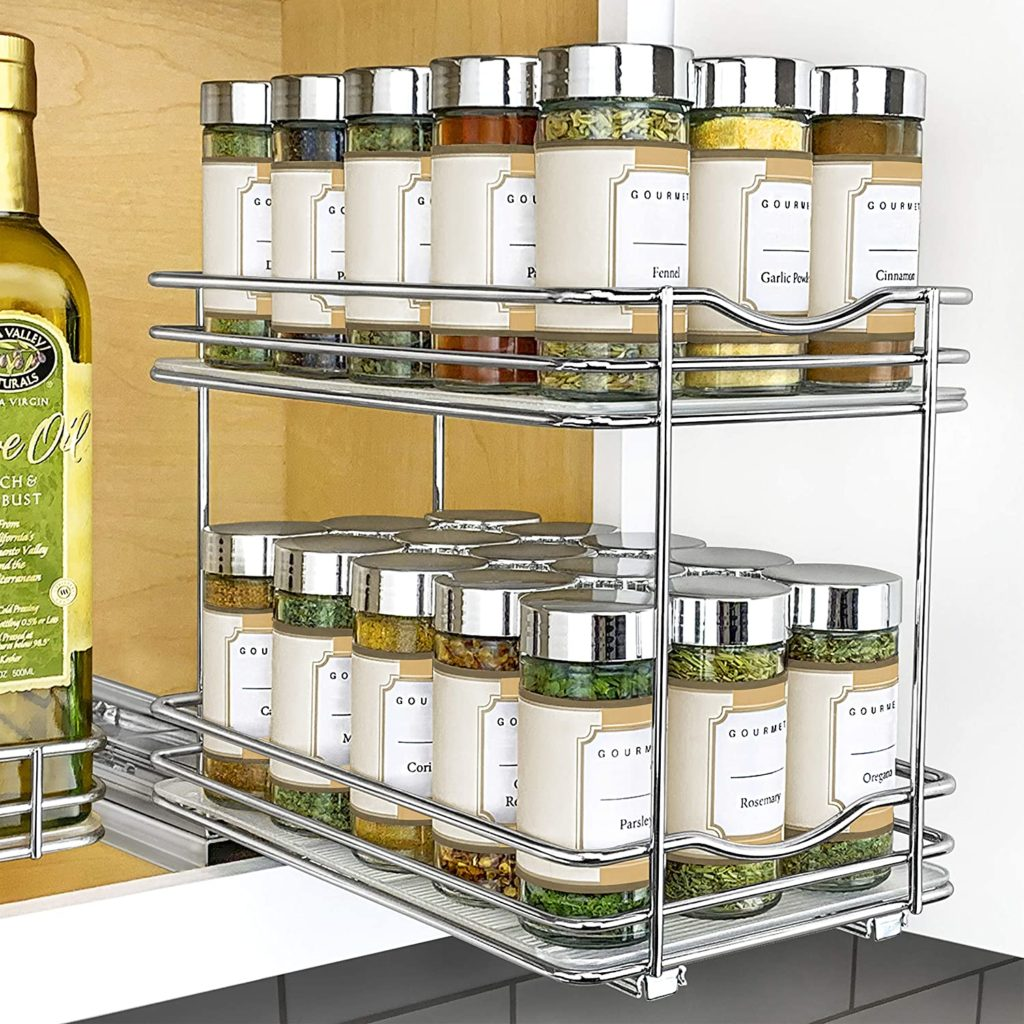 5 kitchen organization tips for those of us who spent a lot of time at home this past year: Reconfigure your spices