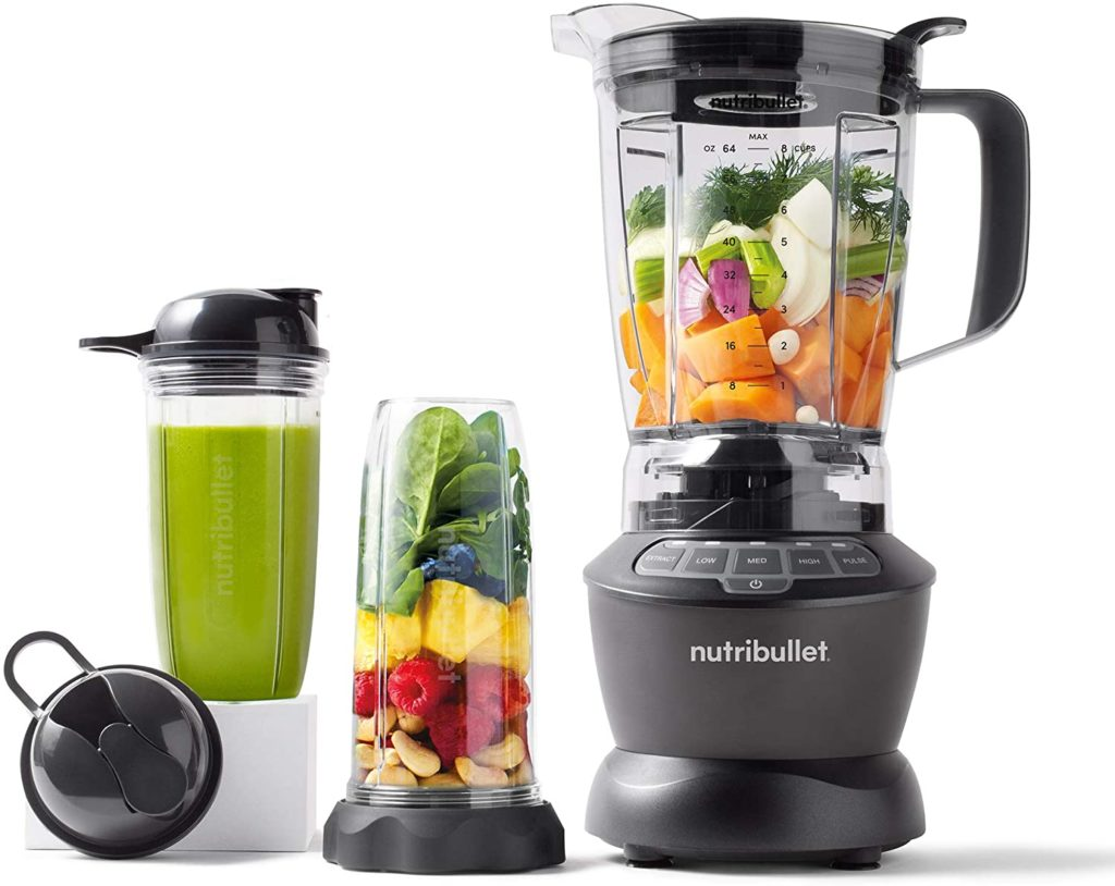 NutriBullet Blender Combo makes great smoothies for one or a crowd