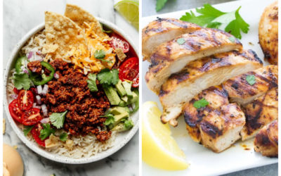 5 weeknight dinners that make great lunches the next day | Meal Plan Ideas #34