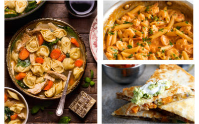 Easy meals to help transition into fall | Weekly Meal Plan Ideas #35