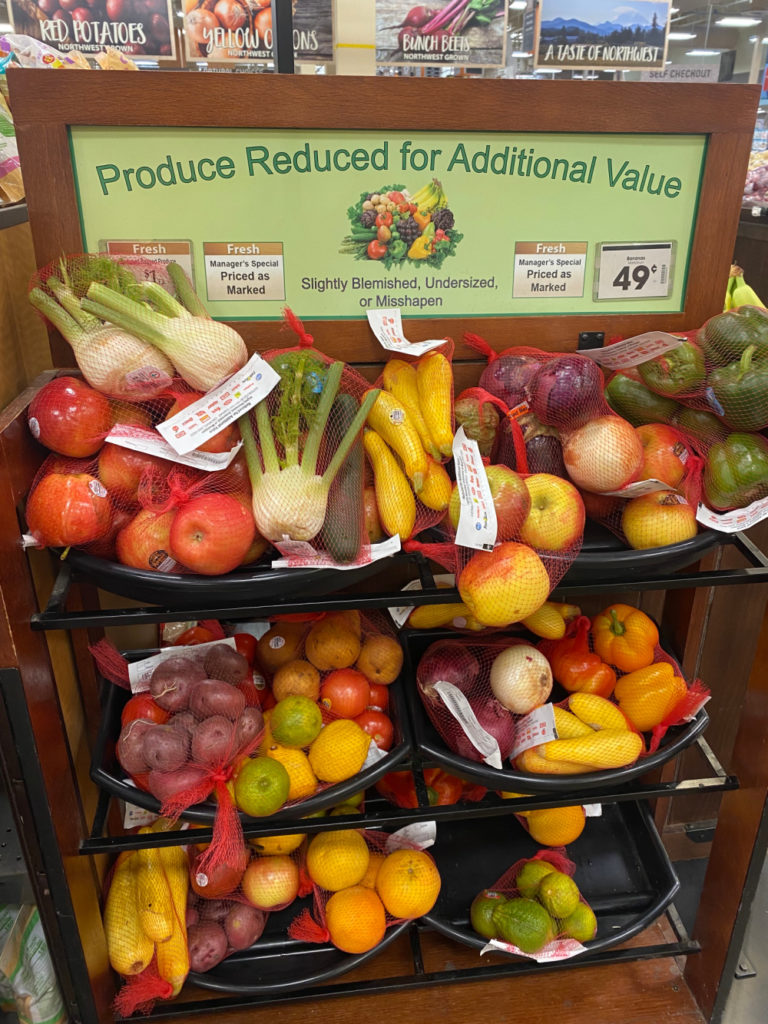How to use clearance section veggies for your weekly meal plan