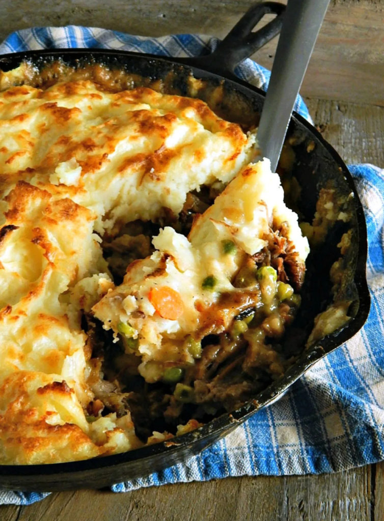Weekly Meal Plan Ideas: Shepards Pie from Leftover Potroast from Frugal Hausfrau