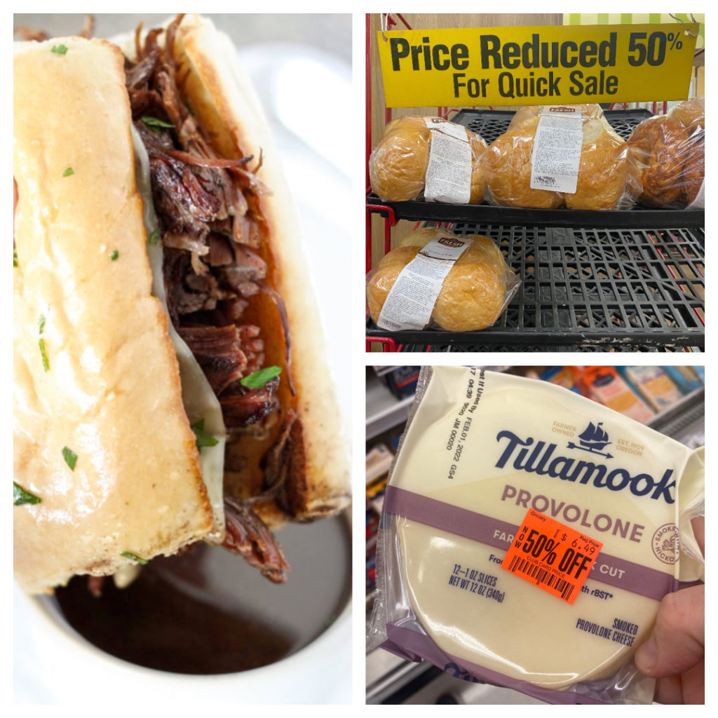 Weekly Meal Plan Ideas: Instant Pot French Dip sandwiches