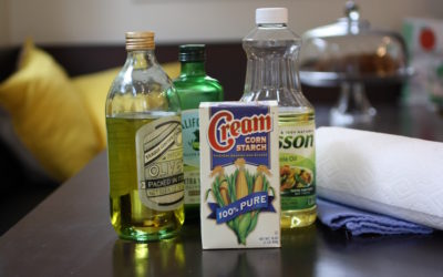 The best way to clean a cooking oil spill – no special cleaners required! | Jane Sweeney for Cool Mom Eats